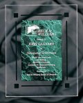 Green Marble Acrylic Award Recognition Plaque Achievement Awards
