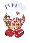 Casino Night Cards  Cardboard Cutout | Standup