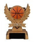 Victory Wing Resin Figure -Basketball Multi-Activity Mylar Resin Trophy Awards