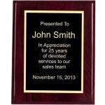 Piano Finish, Square, Red Sales Awards