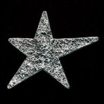 Star Pewter Accent Star Stone Awards