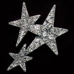 Star Cluster Pewter Accent Star Stone Awards