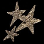 Star Cluster Bronze Accent Star Stone Awards